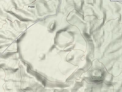 Relief des deux lacs